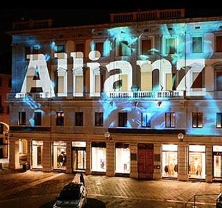 video mapping audio video luci evento aziendale promozionale