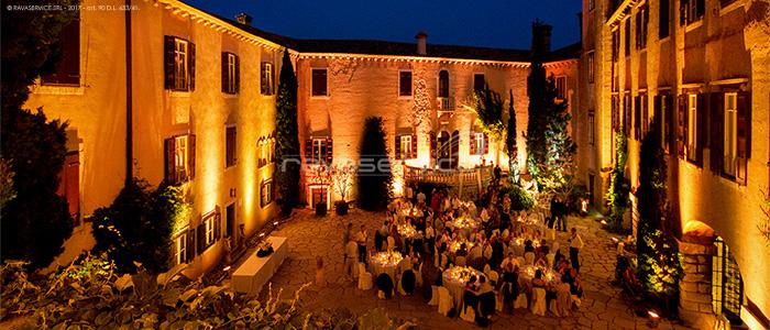 castello duino trieste eventi matrimonio illuminazione