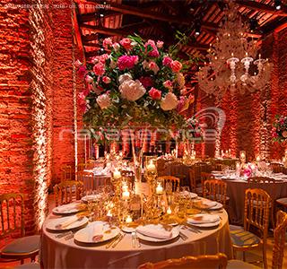 cena gala matrimonio evento illuminazioni scenografiche