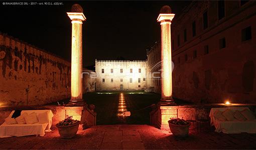castello catajo padova lighting event service