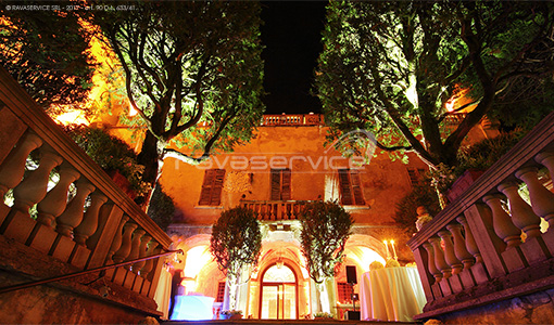 castello catajo padova illuminazione matrimonio