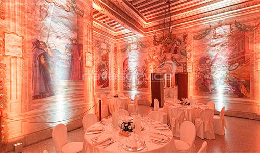 castello catajo padova illuminazione