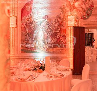 castello catajo padova illuminazione eventi matrimonio