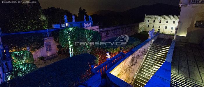 castello catajo padova lighting park garden events wedding