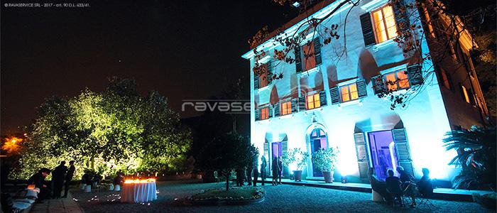 l'esedra santo stefano genova event lighting