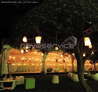 l'esedra santo stefano genova event lights