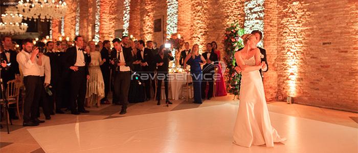 granai cipriani venezia dancefloor matrimonio