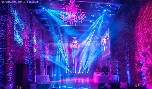 granai cipriani venezia dancefloor dj service luci discoteca