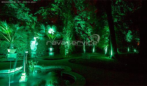 orto botanico padova luci giardino evento