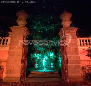 orto botanico padova luci evento
