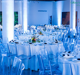 orto botanico padova cena gala illuminazione evento