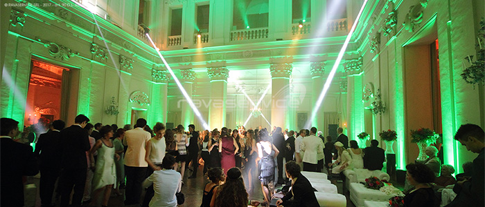 palazzo albergati zola bologna lights dancefloor