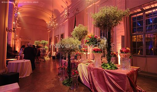 palazzo albergati zola bologna lighting event wedding