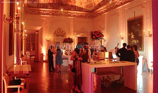 palazzo albergati zola bologna illuminazione scenografica