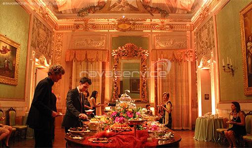 palazzo albergati zola bologna luci evento matrimonio