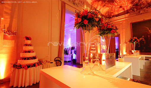 palazzo albergati zola bologna illuminazione evento