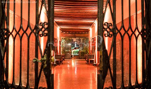 palazzo nani bernardo venezia illuminazione giardino androne eventi