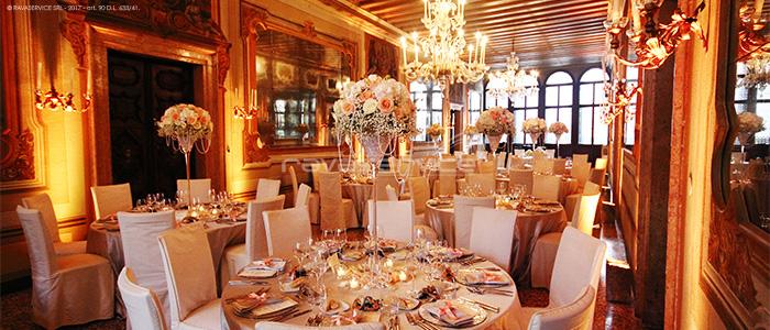 palazzo zeno venice lights wedding event