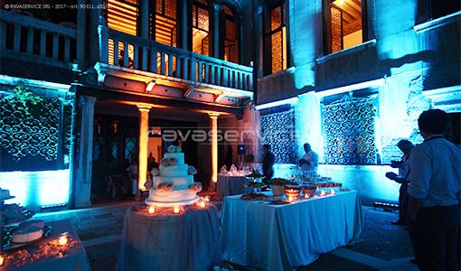 palazzo zeno venezia illuminazione eventi