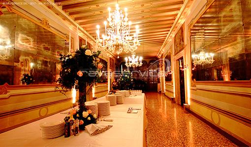 palazzo zeno venezia illuminazione matrimonio ricevimento