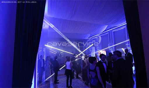 società del giardino milan lights dancefloor