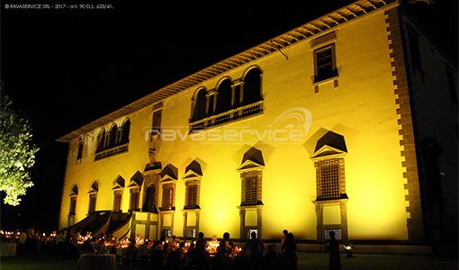tenuta i collazzi firenze lighting villa façade garden