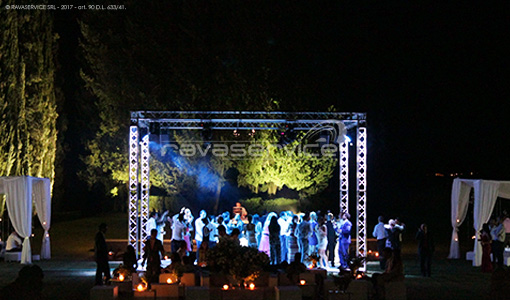 tenuta i collazzi firenze lighting event party