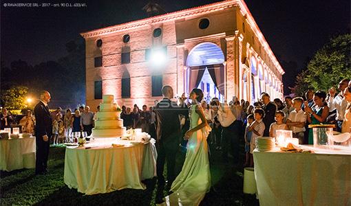 villa foscarini stra matrimonio luci