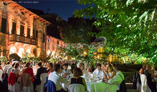 villa la mattarana verona lighting wedding