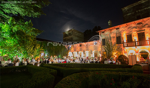 villa la mattarana verona lighting garden event