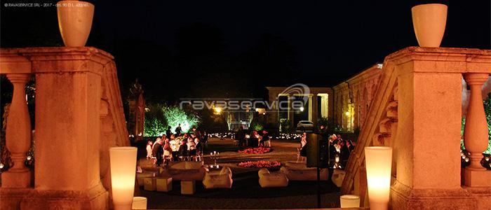 villa valmarana vicenza event lighting