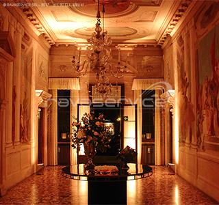 villa valmarana vicenza recepiton light