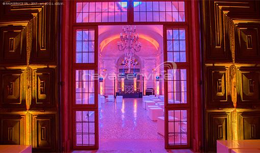 villa vescovi torreglia illuminazione festa dj dancefloor