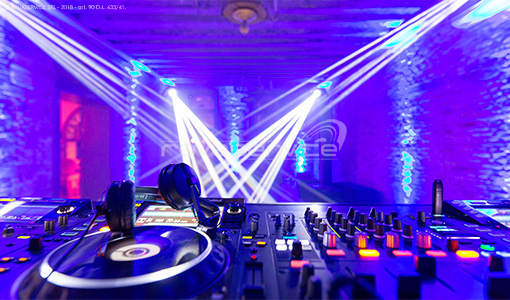 dancefloor private party lights sound