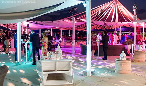 augustus beach scenographic lighting