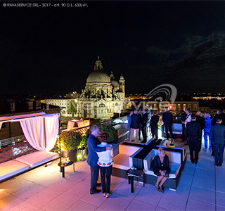 hotel gritti palace illuminazione evento