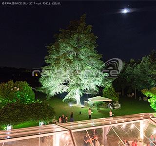palazzo popoli bentivoglio illuminazione parco