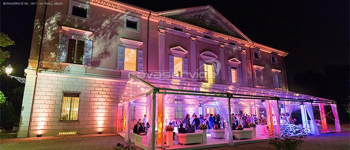 palazzo popoli bentivoglio bologna illuminazione matrimonio