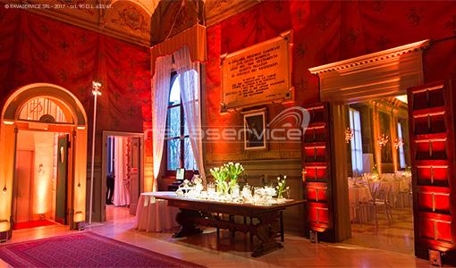 palazzo roverella rovigo wedding lighting