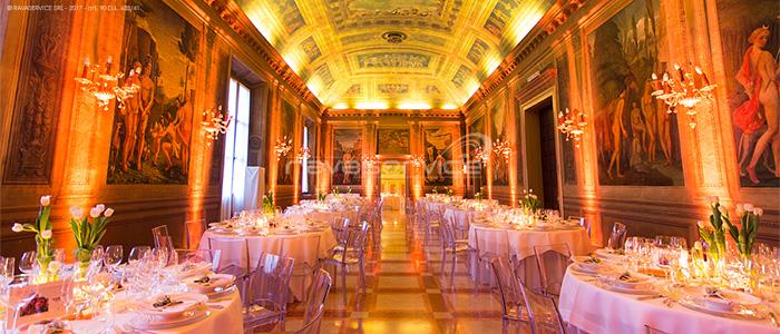 palazzo roverella rovigo wedding decoration