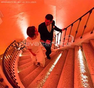 palazzo roverella rovigo illuminazione matrimonio