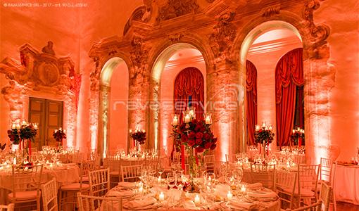 villa la favorita vicenza palladio luci eventi matrimonio