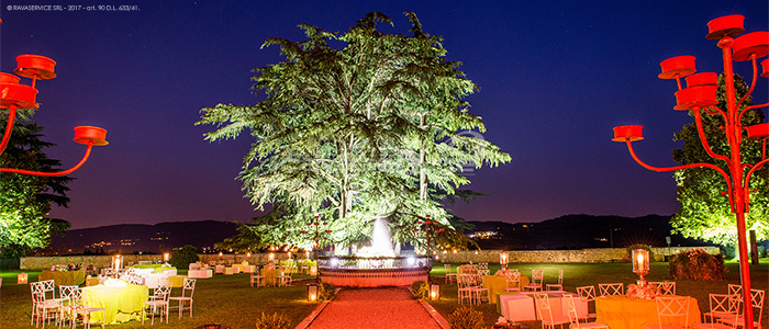 villa la favorita vicenza palladio lightings events wedding
