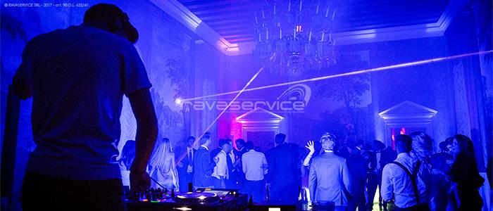 villa trissino marzotto vicenza djset party audio lights service