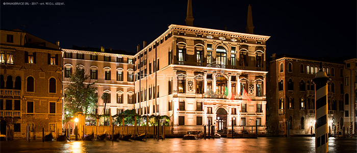 aman venice light façade