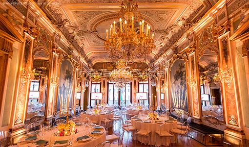 aman venezia lights gala events wedding