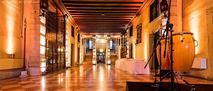 palazzo pisani venezia luci service backline