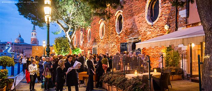 granai cipriani venezia illuminazione evento