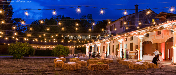villa frassanelle padova illumination bulbs