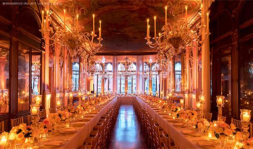 palazzo pisani moretta venezia evento biennale luci